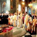 Slujire arhiereasca in Biserica Buna Vestire din Giurgiu