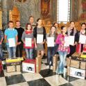 """Premierea proiectului """"Alege scoala"""" la Biserica Tinerilor"""