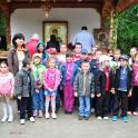 """""""Sfintii, prietenii copiilor"""" - Concurs la Manastirea Sfantul Ioan Rusul"""