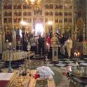 Taina Sfantului Botez pentru trei prunci orfani