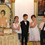 Sfantul Ioan Valahul praznuit in Biserica Tinerilor