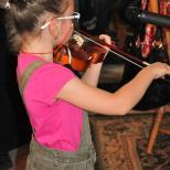 Recital la vioara - Duminica Tinerilor