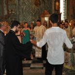 Cununie civila si religioasa la Biserica Tinerilor