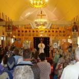 Hramul Bisericii Inaltarea Sfintei Cruci - Comana