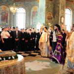 Slujire Arhiereasca la Biserica Tinerilor - 7 oct. 2012