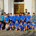 """Asociatia sportiva """"Viitorul Giurgiu""""la acatistul Sf. Mc. Fanurie"""