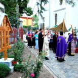 Biserica Buna Vestire  - Procesiune cu Sfantul Epitaf