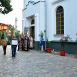 Biserica Buna Vestire - Procesiune